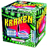 Kraken 200g Cake Fireworks For Sale - 200G Multi-Shot Cake Aerials