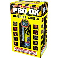 Pro Ox - MiniMax Canister Shells Fireworks For Sale - Reloadable Artillery Shells