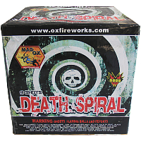 Death Spiral Fireworks For Sale - 500g Firework Cakes