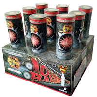 Double Barrel Fireworks For Sale - 500g Firework Cakes