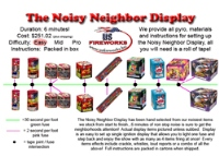 The Noisy Neighbor Display Fireworks For Sale - 500g Firework Cakes