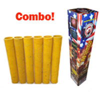 Mammoth Artillery Mortar Combo Fireworks For Sale - Reloadable Artillery Shells