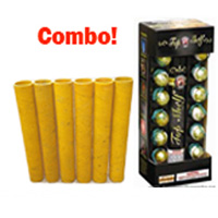 Top Shelf Artillery Mortar Combo Fireworks For Sale - Reloadable Artillery Shells