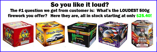 Buy 500g Cake Fireworks On-line